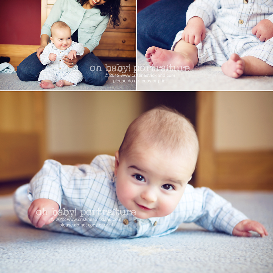 Oh Baby! Portraiture | lifestyle infant photography