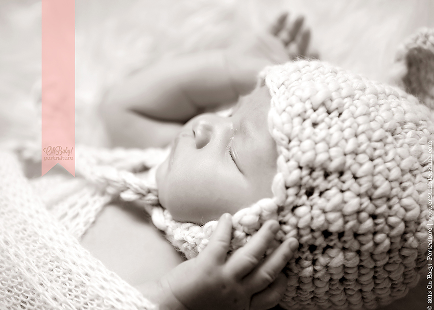 sweet sleeping newborn baby