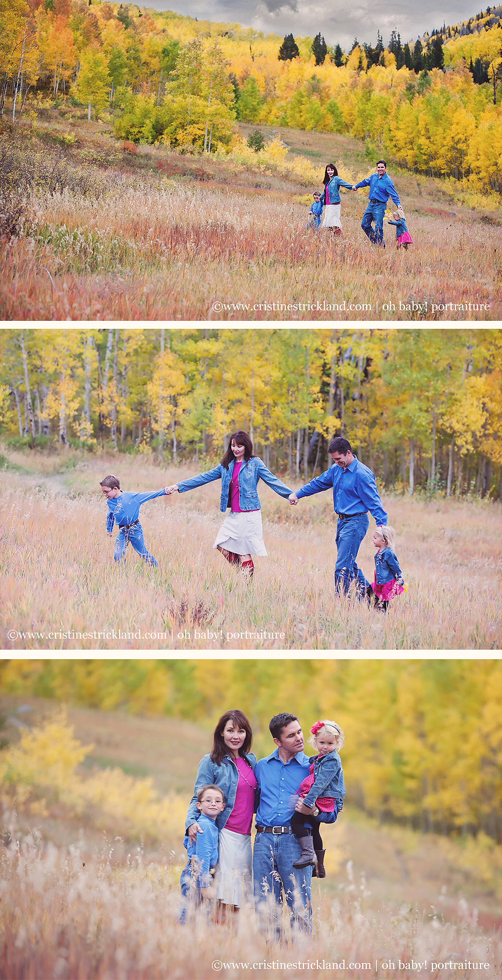 grand mesa colorado family portraits