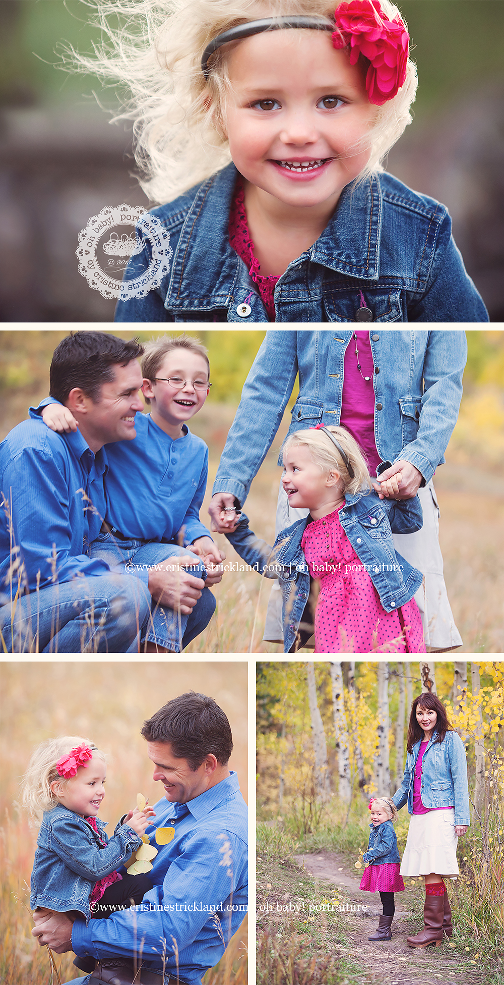 grand mesa colorado family photography